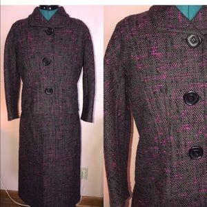 Vintage wool utilitarian suit